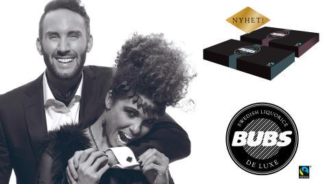 BUBS De Luxe – Svensk Fairtrade-märkt premiumlakrits!