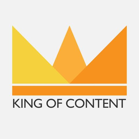 Logo King of content