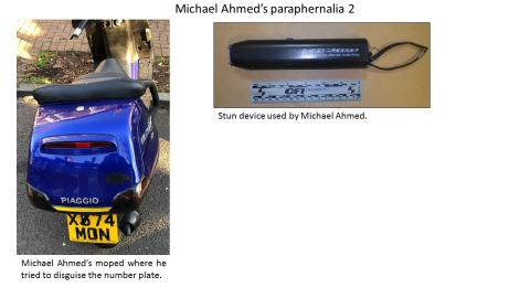 Moped and stun device