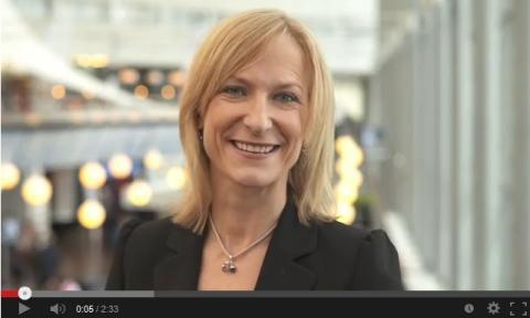 Kristina Alvendal, VD Airport City Stockholm, talar om företagsetableringar som sker i Airport City Stockholm och om utvecklingen av kollektivtrafiken