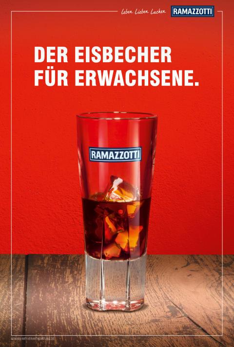 Neue Ramazzotti Kampagne: Sommer Motiv
