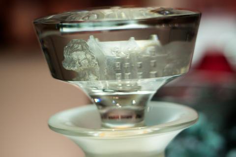 The Macallan Lalique Cire Perdue 64yo decanter