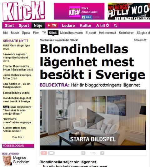 Blondinbella - ShowYourSearch