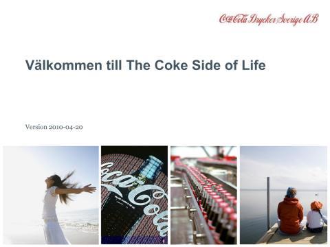 Coca-Cola Företagspresentation