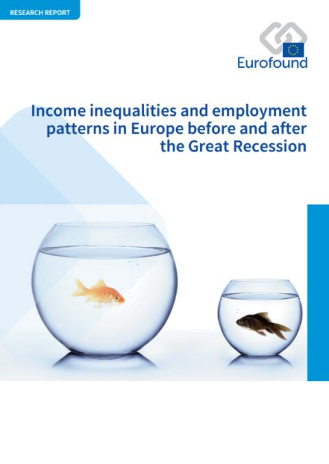 Income inequalities in Europe on the rise since Great Recession