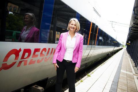 Valduell i dag om kollektivtrafik med Pia Kinhult och Henrik Fritzon