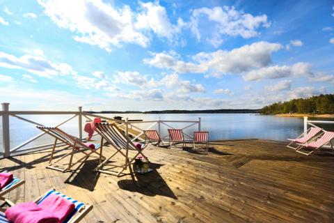Krägga Herrgård – ett sommarparadis för livsnjutare i alla åldrar