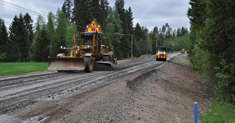 Bättre väg mellan Tuvan och Gunnarsjö i Hallands län