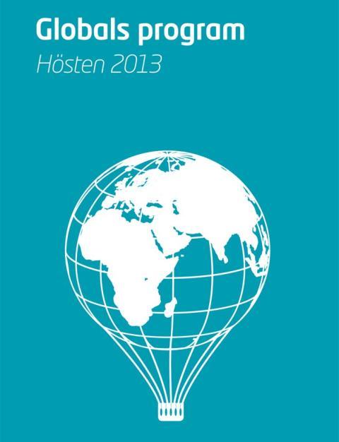 Höstens program på Stadsbiblioteket Global