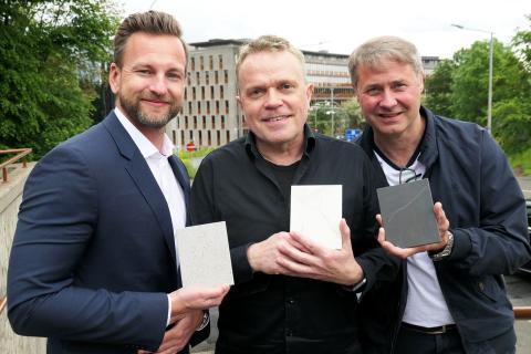 Samarbeidet med Modum Glassindustri AS og Schüco Norge KG er pionerpreget for Cosentino Norge AS.