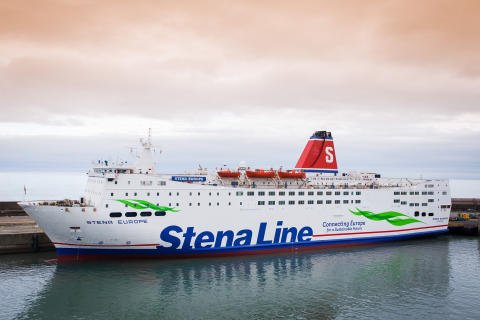 Stena Europe first for Irish Sea ferry fleet