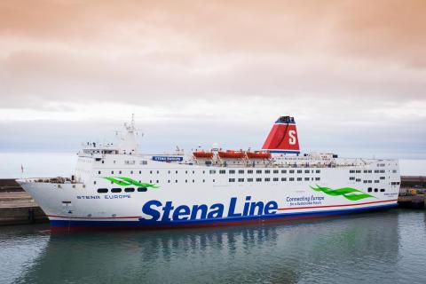 Stena Europe first for Irish Sea ferry fleet