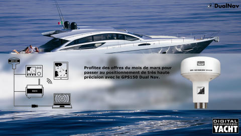 Passez au positionnement de haute précision avec le GPS 150