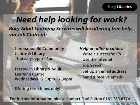 Need help looking for work?