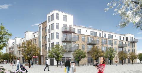 SEB väljer att flytta till nya Lomma centrum!