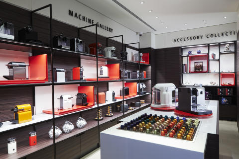 Nespresso Göteborg Machine Gallery