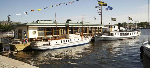 New: Steam boat museum, bar and restaurant with a view
