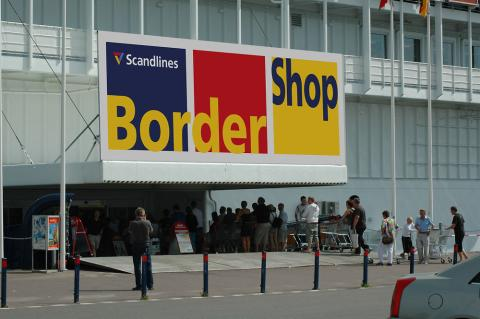 Scandlines' BorderShops – Puttgarden