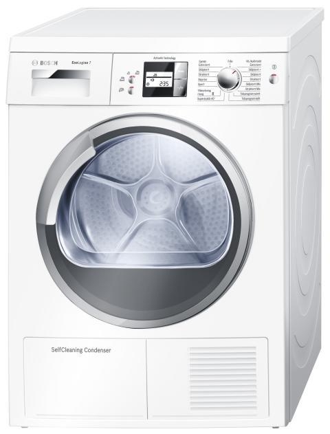 WTW 86582SN – Torktumlare med speciell värmepumpsteknik