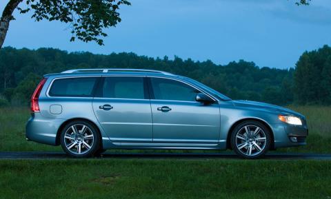 Klassikern Volvo V70 är kundernas favoritval