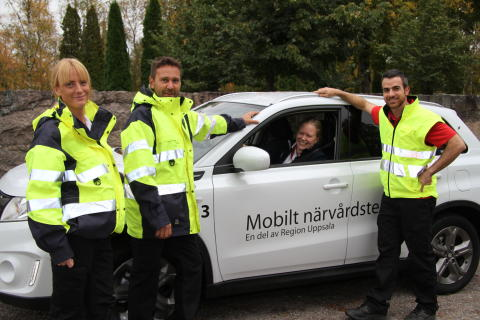 Mobilt närvårdsteam Region Uppsala