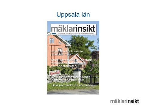 Mäklarinsikt Uppsala län 2016:3