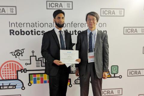 Professor Nisar Sajid Award