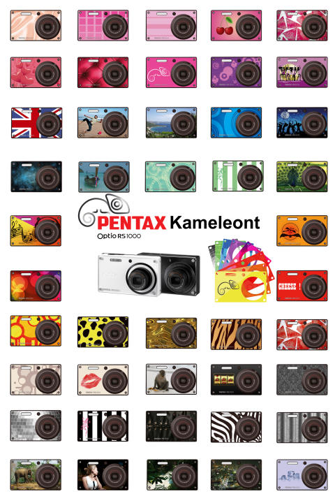 Pentax RS1000 tuotejuliste