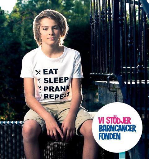KidsBrandStore.se och Liam Pitts samlar in pengar till Barncancerfonden