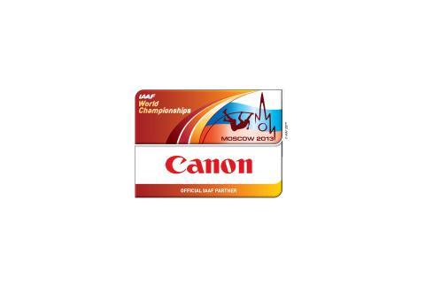 Canon stöder IAAF World Championships i Moskva 2013 med olika aktiviteter och som officiell IAAF-partner