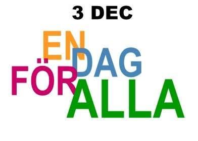 Idag firar vi En dag för alla
