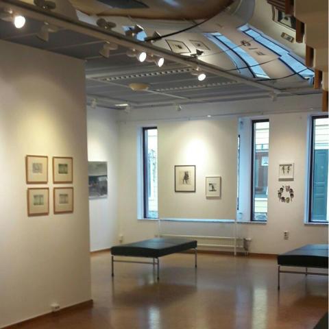 Kommunens konst visas på Popup-utställning i Lindesberg