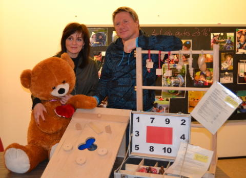 Spendenüberraschung im Januar: Spiele-Spaß für Bärenherz