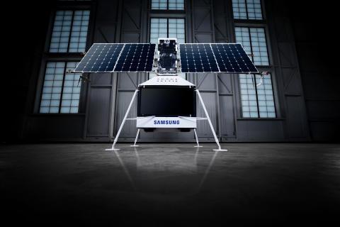 Samsung skubber grænser – Send din selfie til rummet