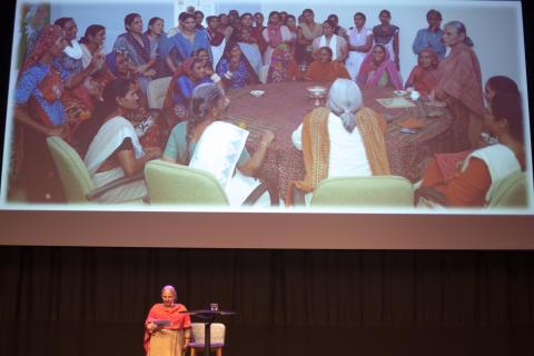 Reema Nanavaty föreläste 2016