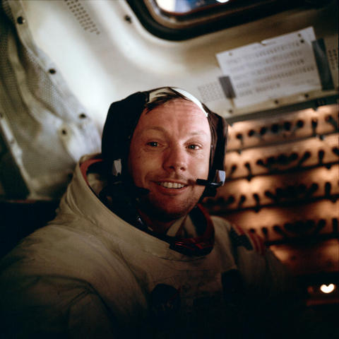 Neil Armstrong under Apollo 11-missionen