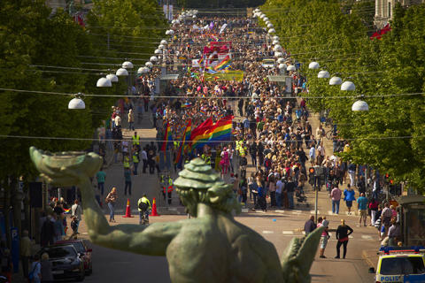 Göteborgs Stad deltar i West Pride 7-11 juni