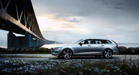 Volvo toppar halvårets bilförsäljning - V90 mest sålda bilen