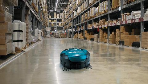 Makita lanserar unik robotdammsugare på 2x18V