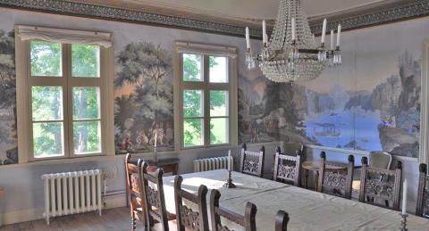 Varsam renovering av 200 år gammal herrgård