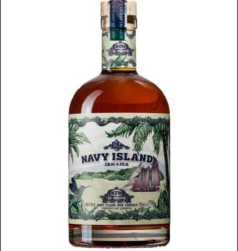 Imorgon fredag lanserar Moestue Grape Selections 600 flaskor Navy Island Rum XO Reserve.