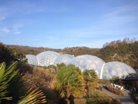 Storbritanniens största besöksmål Project Eden