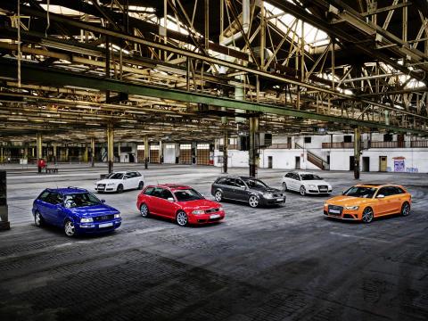 Audi RS-modeller