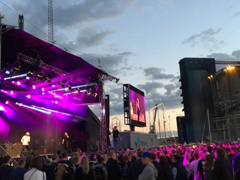 Sommarens härliga utomhuskonserter i Halmstad