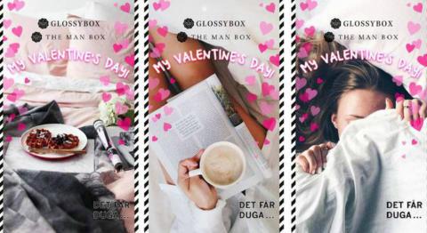 Glossybox gör Snapchats första kampanj i Norden på alla hjärtans dag