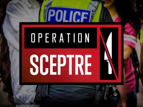 Operation Sceptre - targeting knives and knife crime in Sussex