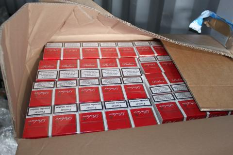 Op Incuse Palace cigarettes seized by HMRC 2