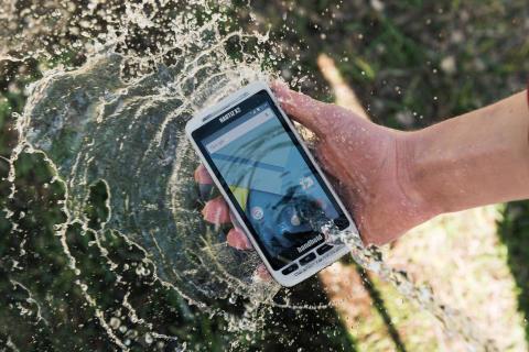 Nautiz X2, en stryktålig och vattentät Android handdator med skanner