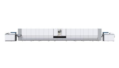 Canons nya digitala tryckpress Océ ProStream – trycker med bläckstråleteknik en oöverträffad kvalitet för flexibla utskriftsmaterial.