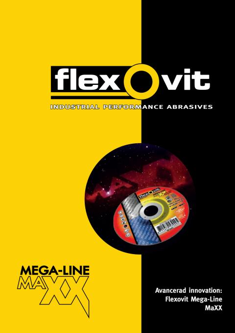 Broschyr Flexovit Mega-Line MaXX
